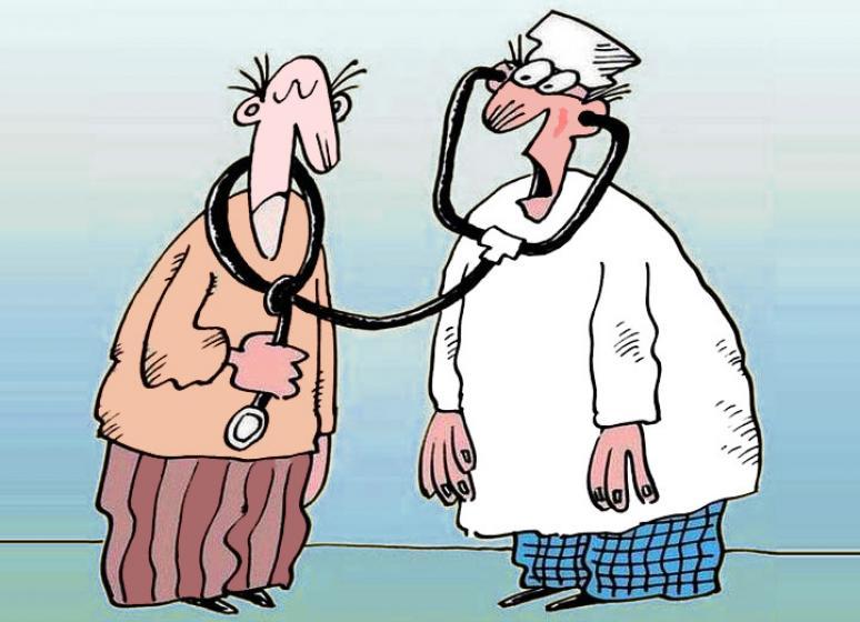 Смешные картинки прием у врача